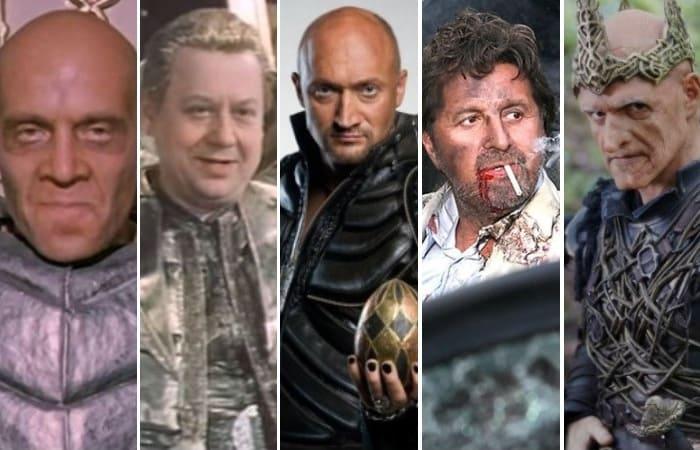 Актеры, которые сыграли в кино Кощея Бессмертного | Фото: kino-teatr.ru и yaplakal.com