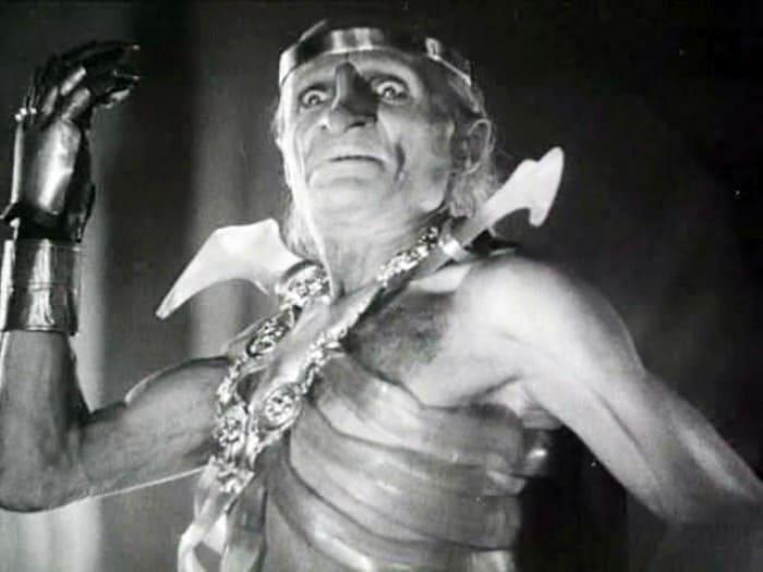 Георгий Милляр в роли Кощея, 1944 | Фото: dubikvit.livejournal.com