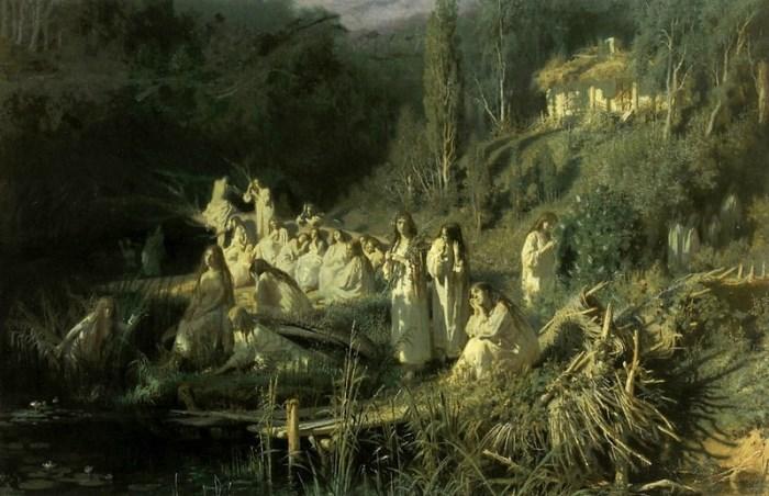 И. Крамской. Русалки, 1871
