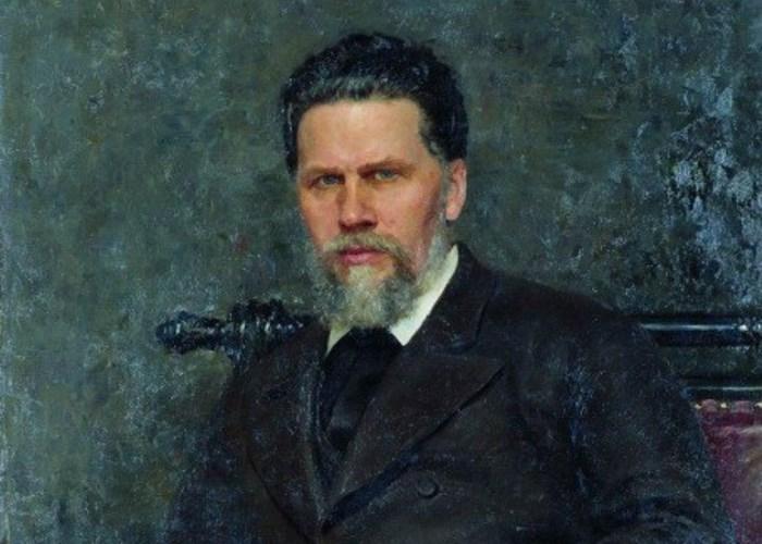 И. Репин. Портрет художника И. Н. Крамского, 1882. Фрагмент