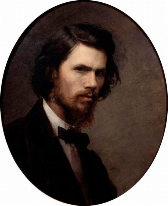 И. Крамской. Автопортрет, 1867