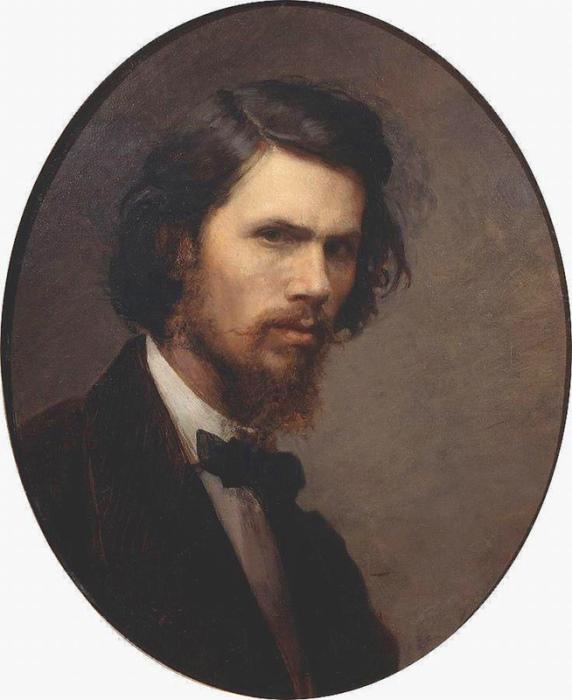 Иван Крамской. Автопортрет, 1867