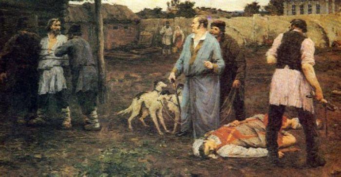 Крепостные крестьяне подвергались жестоким телесным наказаниям