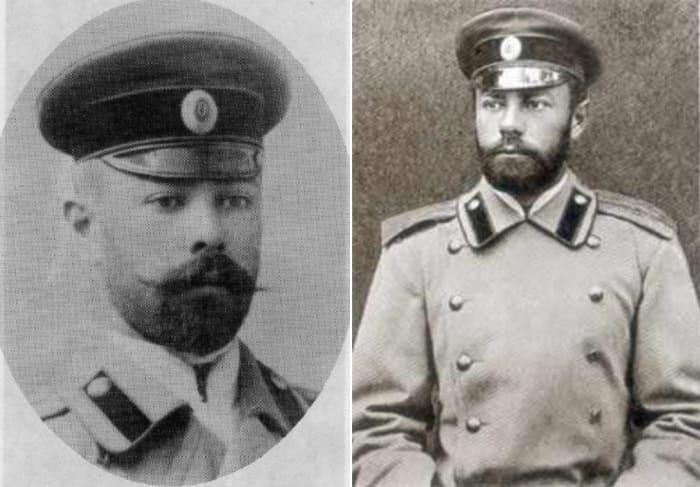 Антон Деникин в 1893 и 1895 гг. | Фото: matrony.ru