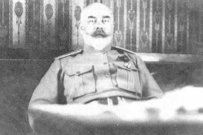 Деникин в день отставки с поста главнокомандующего Вооруженными силами Юга России, апрель 1920 | Фото: matrony.ru