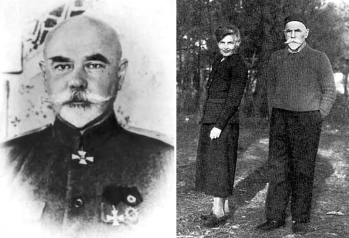 Антон Деникин с женой, начало 1940-х гг. | Фото: matrony.ru