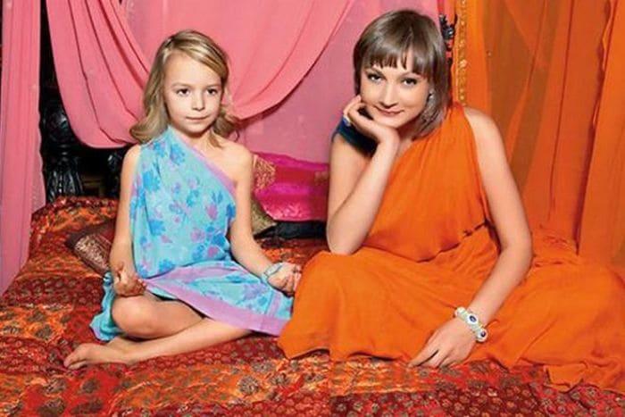 Ксения Качалина с дочерью | Фото: 24smi.org
