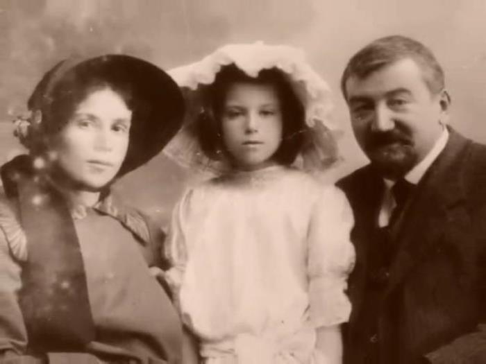 Александр Куприн с женой и дочерью | Фото: liveinternet.ru
