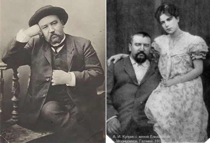 Писатель с женой   Фото: liveinternet.ru