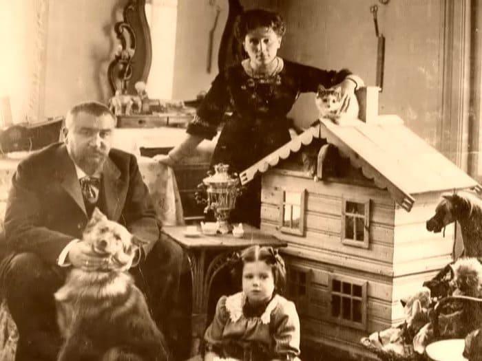 Александр Куприн с женой и дочерью   Фото: liveinternet.ru