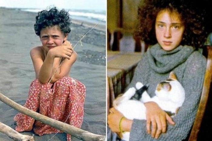 Ксения Раппопорт в детстве   Фото: stories-of-success.ru