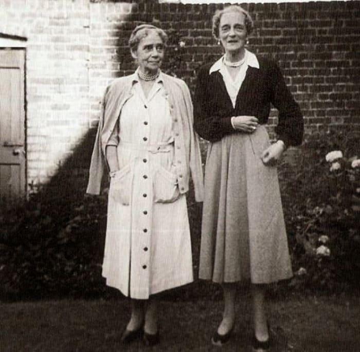 Великая княгиня Ксения Александровна с дочерью, княгиней Ириной Юсуповой, 1957 | Фото: liveinternet.ru