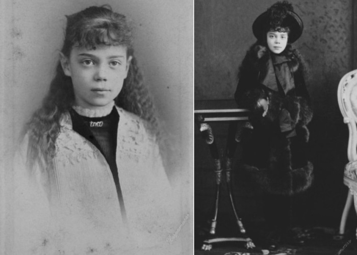 Великая княжна Ксения Александровна в детстве | Фото: liveinternet.ru