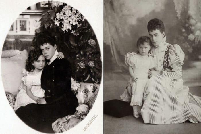 Ксения Александровна с единственной дочерью – Ириной | Фото: liveinternet.ru
