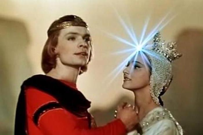 Ксения Рябинкина в *Сказке о царе Салтане*, 1966   Фото: nastroy.net
