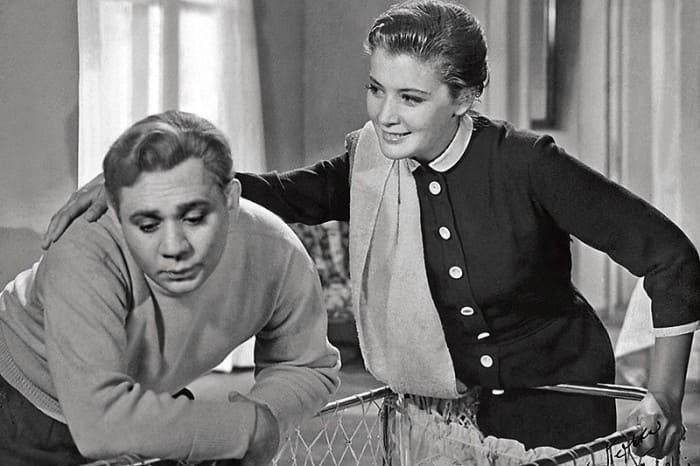 Кадр из фильма *Повесть о молодоженах*, 1959   Фото: liveinternet.ru