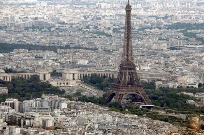Любимое место туристов в Париже