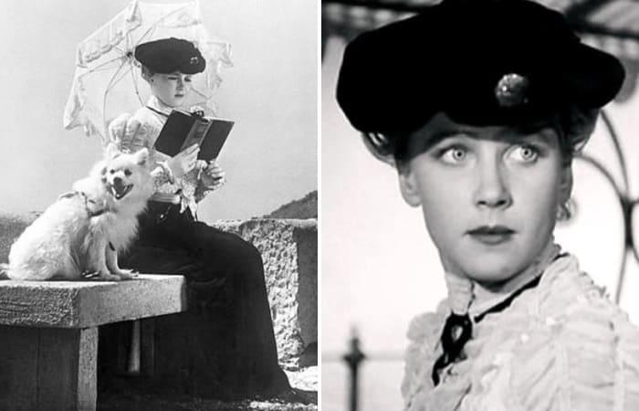 Ия Саввина в фильме *Дама с собачкой*, 1960 | Фото: chtoby-pomnili.com, kinootziv.com