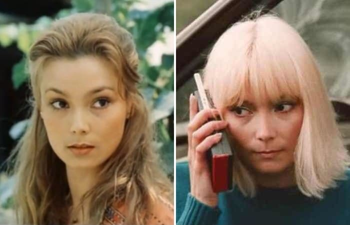 Одна из самых красивых актрис 1980-х гг. Лариса Белогурова | Фото: kino-teatr.ru, biographe.ru