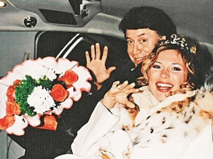Лариса Черникова с мужем Джеймсом | Фото: biography-life.ru