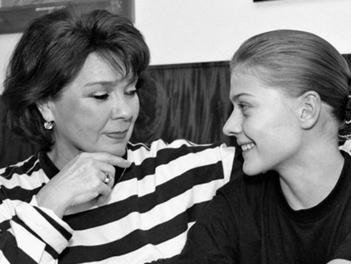 Лариса Голубкина с дочерью Машей | Фото: kino-teatr.ru