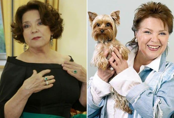 Актриса театра и кино Лариса Голубкина | Фото: 24smi.org, starhit.ru
