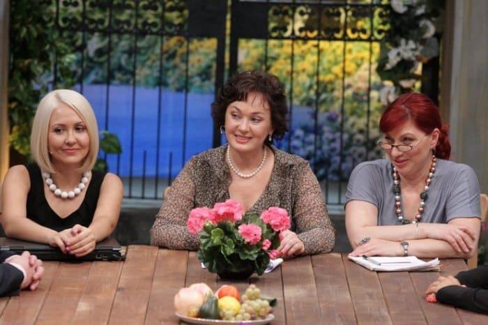 Лариса Гузеева в передаче *Давай поженимся!* | Фото: goodhouse.ru