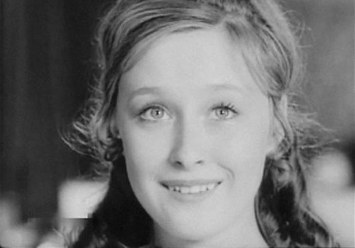15-летняя Лариса Удовиченко в своем первом фильме *Счастливый Кукушкин*, 1970   Фото: kino-teatr.ru