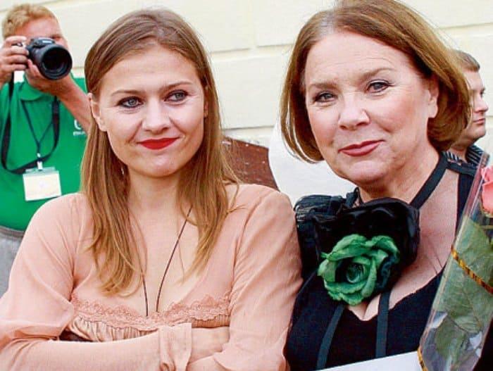 Мария Голубкина с матерью | Фото: vokrug.tv
