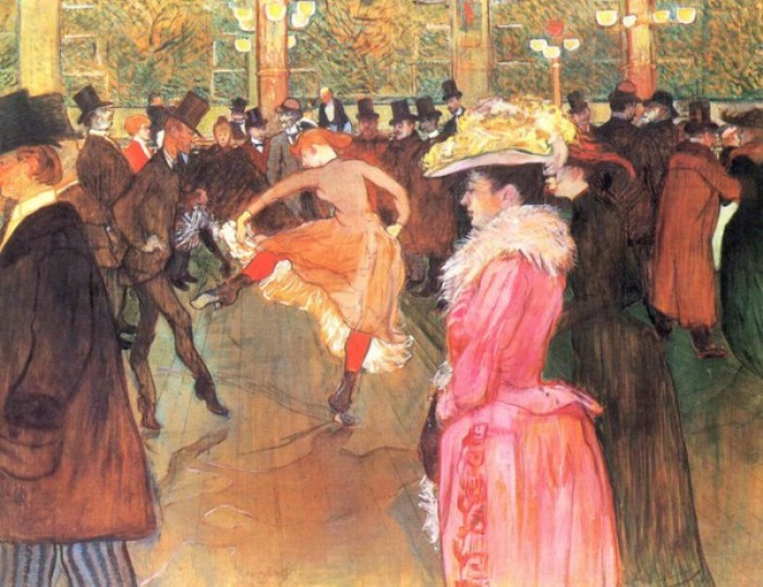 Танец в Мулен Руж, 1889-1990