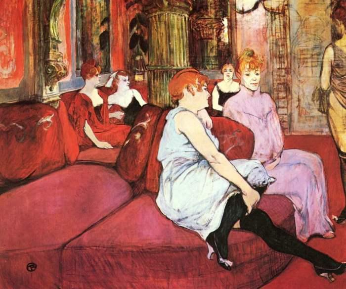 В салоне на улице де Мулен, 1894 г.