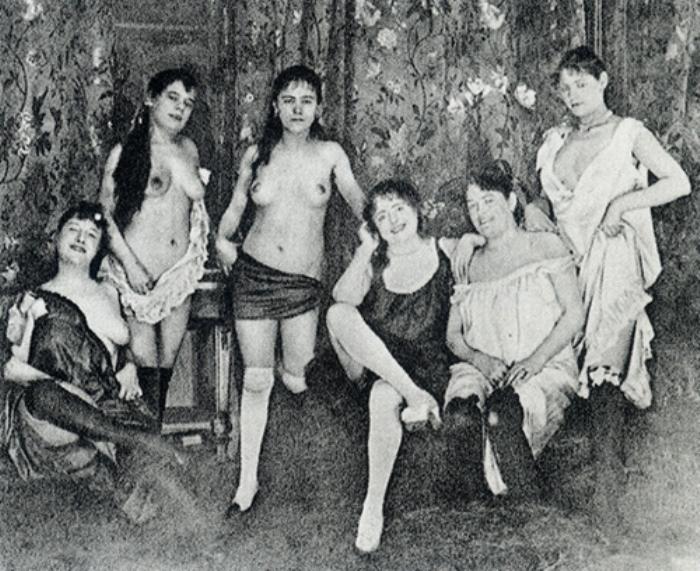 Работницы публичного дома на Монмартре