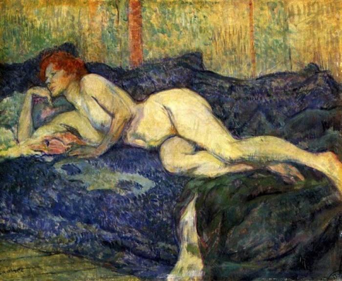 Лежащая обнаженная, 1897 г.