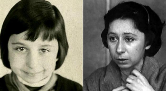 Лия Ахеджакова в детстве и в юности   Фото: news.myseldon.com
