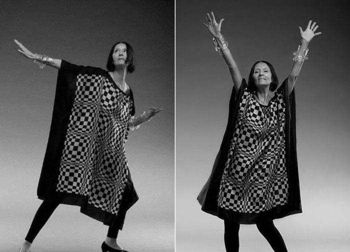 Лека Миронова и в зрелом возрасте работала моделью | Фото: fashiony.ru