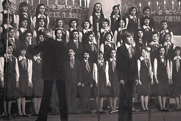 Большой детский хор Центрального телевидения и Всесоюзного радио | Фото: sovsekretno.ru