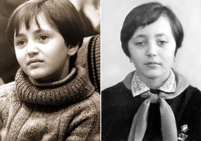 Солистка Большого детского хора Центрального телевидения и Всесоюзного радио Лена Могучева | Фото: pandda.me