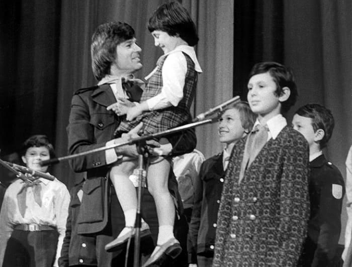 Лена Могучева и Дин Рид. Москва, 1979 | Фото: bdh.ru