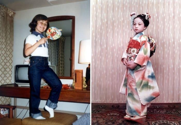 Лена Могучева во время гастролей в Японии, 1980 | Фото: bdh.ru
