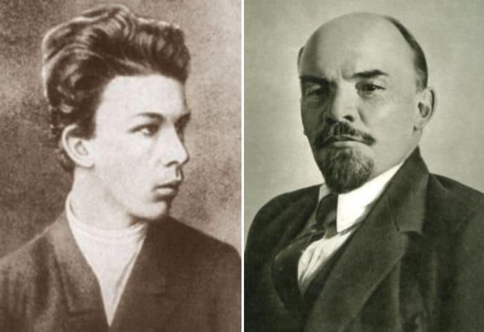 Александр Ульянов и его знаменитый брат | Фото: svpressa.ru
