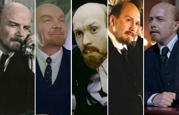Актеры, сыгравшие Ленина в кино | Фото: kino-teatr.ru, anews.com и teleprogramma.pro