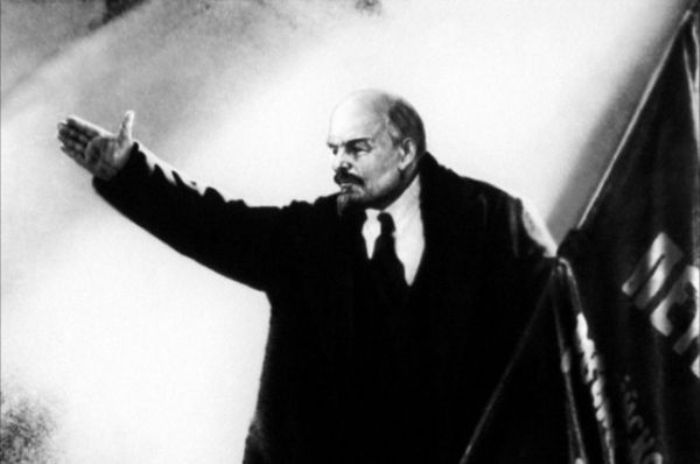 Василий Никандров в роли Ленина, 1927 | Фото: aif.ru