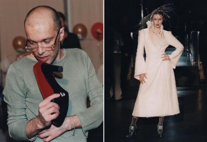 Новиков проводил показы и собственных моделей | Фото: manon-legko.livejournal.com