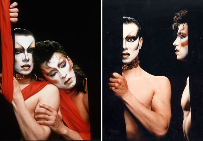 Лев Новиков работал над образами актеров спектакля *Служанки* | Фото: manon-legko.livejournal.com и chtoby-pomnili.livejournal.com