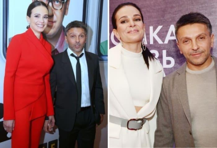 Актер со второй женой Анной Моисеевой | Фото: starhit.ru, vokrug.tv