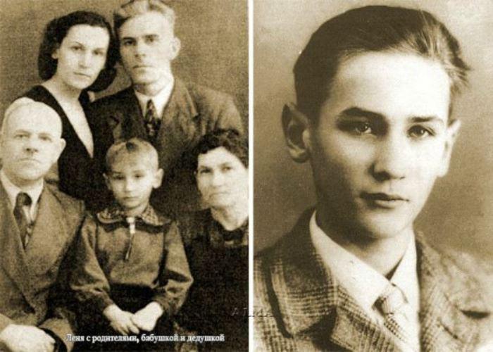Леонид Филатов с семьей   Фото: uznayvse.ru