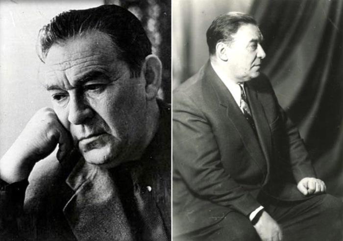 Леонид Утесов в 1950-е   Фото: peoples.ru и kino-teatr.ru