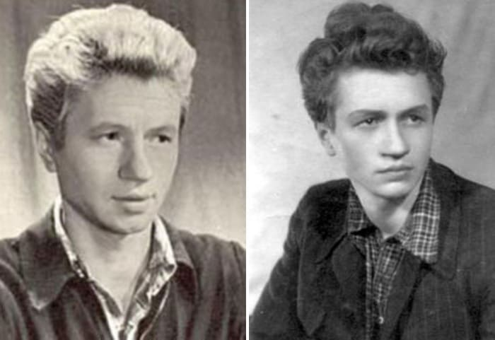 Леонид Быков в молодости   Фото: kino-teatr.ru