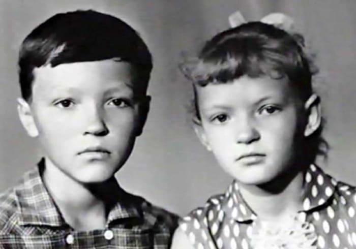 Лесь и Марьяна Быковы – дети актера   Фото: leonid-bykov.ru