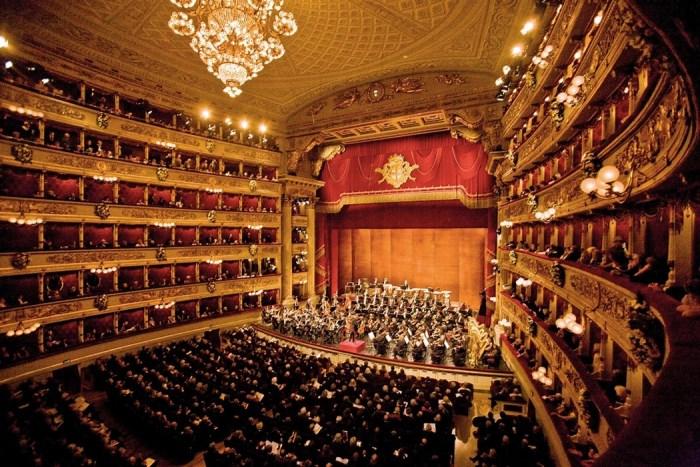 Оперный театр *Ла Скала* в XX в.